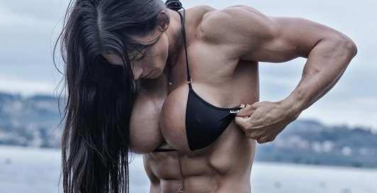 Фитнес-модель Синди Ландольт увеличила грудь и публикует обнаженные фото