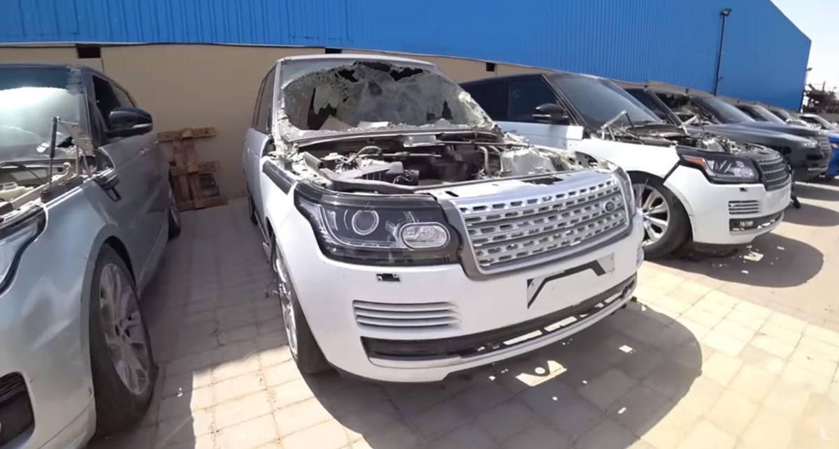 Свалка мечты: Куда выкидывают элитные Mercedes G-Class и Range Rover в Дубае