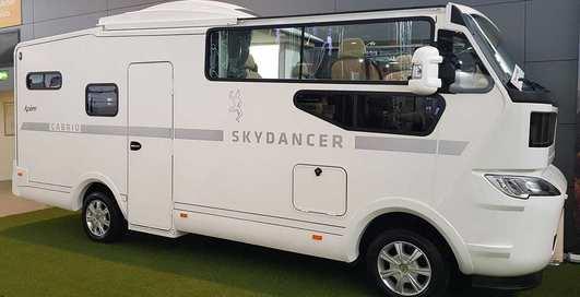 Skydancer Apero: Первый в мире автодом-кабриолет