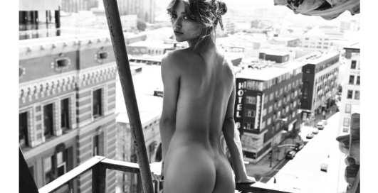 Красотка дня: французская модель Playboy Мейлис Гаруа