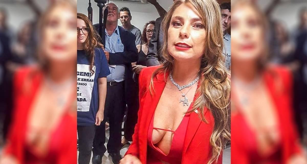 Слуга народа: Бразильская сенаторша всексуальном наряде взорвала сеть