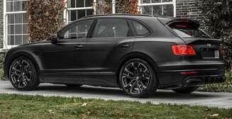 Дарт Вейдер среди авто: необычный тюнинг Bentley Bentayga