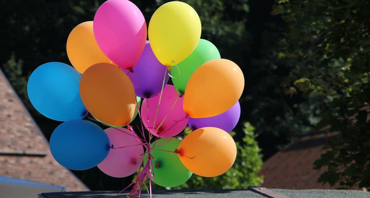 Как при помощи уксуса и соды надуть воздушный шарик