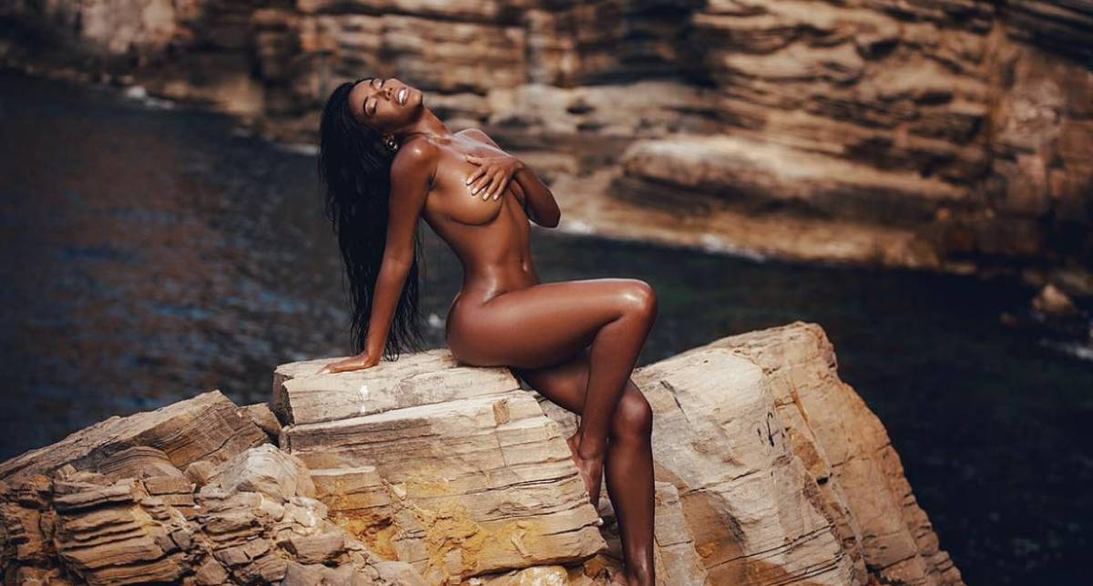 Красотка дня: модель с острова Кюрасао Монифа Дженсен