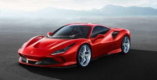 Ferrari показала первые фото эффектного суперкара F8 Tributo