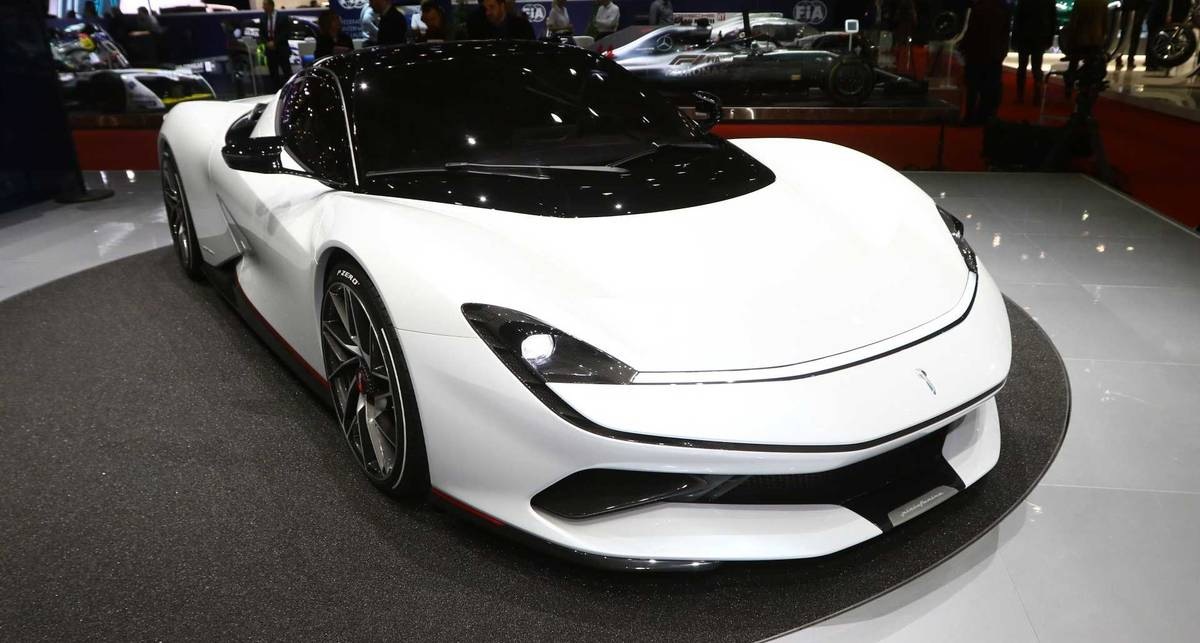 Pininfarina Battista: самый мощный электрокар, с разгоном как в Формуле-1