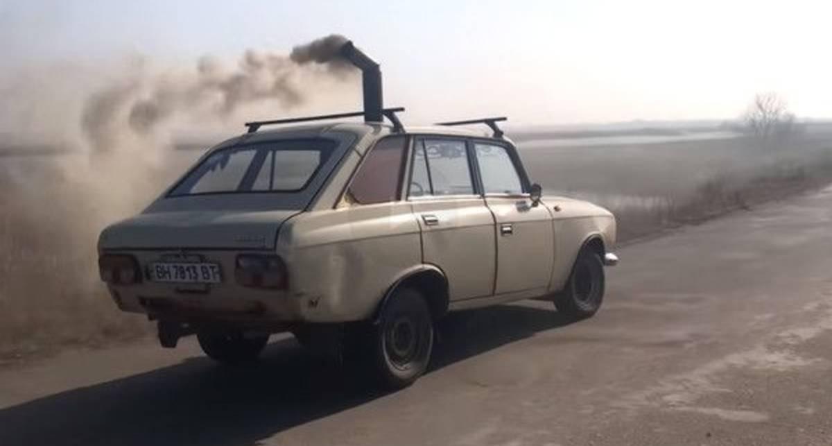 Чих-пых: украинский умелец сделал из Иж-21251 «Кoмби»