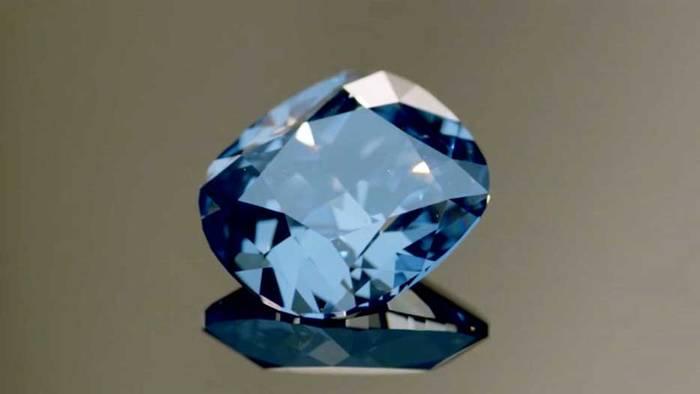 """Бриллиант, известный как """"Голубая луна Жозефины"""""""