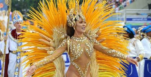 Горячий Рио: самые сексапильные участницы традиционного карнавала-2019