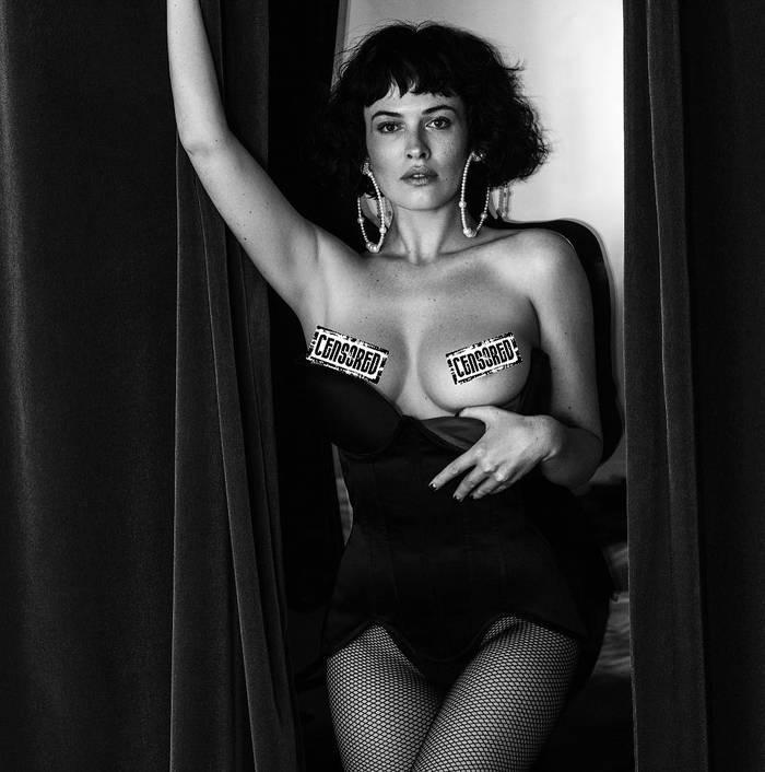 Даша Астафьева в Playboy France