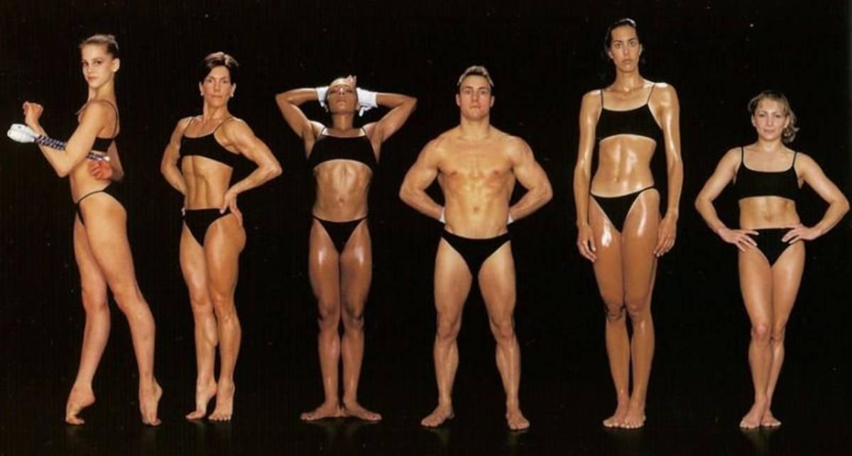 Спорт и внешность: фотопроект