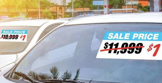 Автосалон Volkswagen распродавал автомобили за 1 доллар