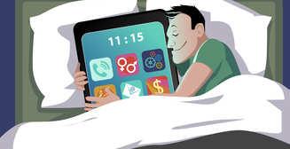 Из-за смартфонов люди стали меньше спать, - исследование