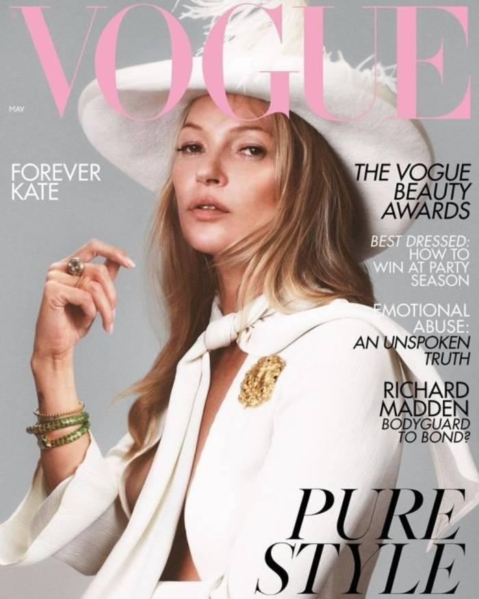 Кейт Мосс для британского Vogue