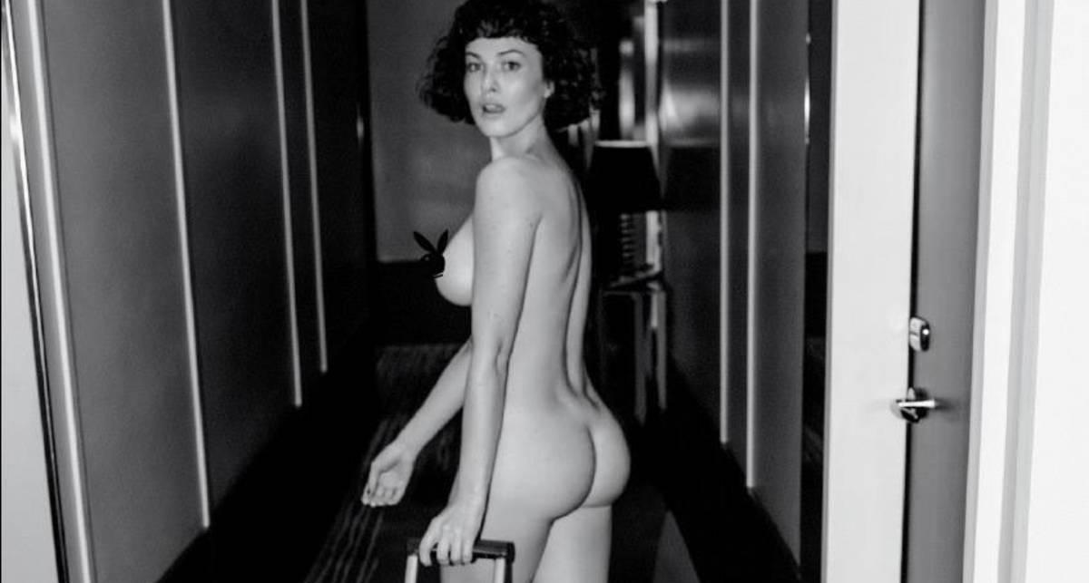 Playboy показал голую Дашу Астафьеву