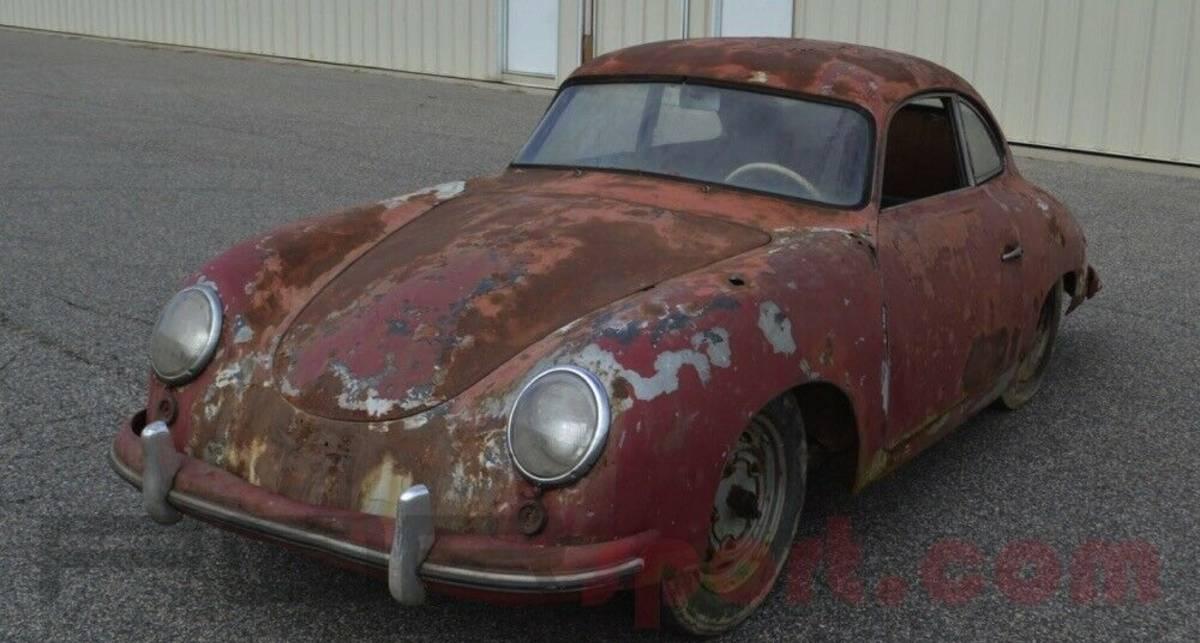 Полностью ржавый Porsche 356 продают дороже нового Кайена
