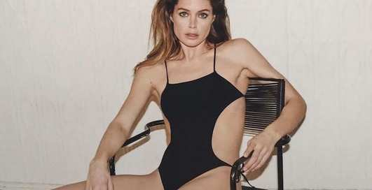 Даутцен Крес показала спортивную форму в фотосессии для Vogue