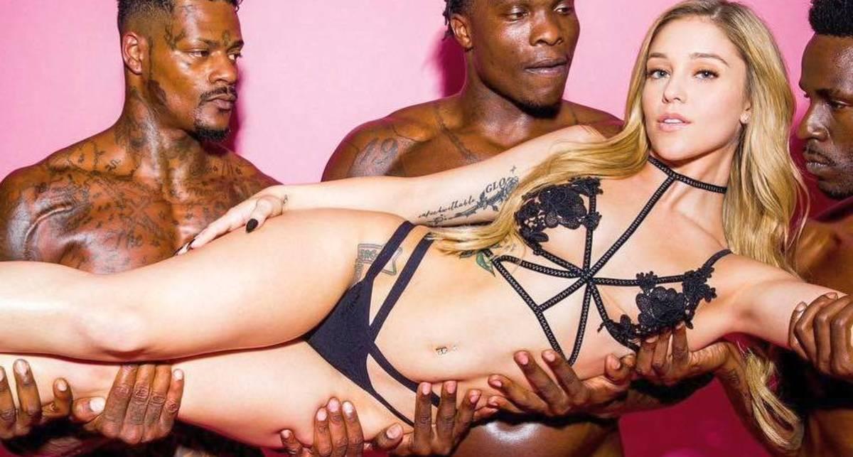 Красотка дня: порноактриса Кали Роузес