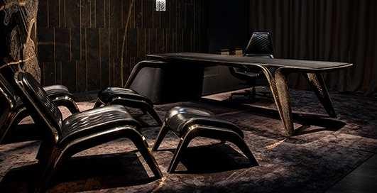 По-богатому: Bentley к своему столетию выпустила эксклюзивную мебель с позолотой