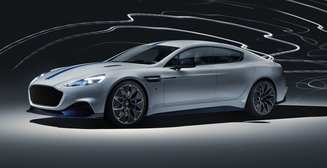 Представлен первый электрокар Aston Martin. На нем будет ездить Джеймс Бонд
