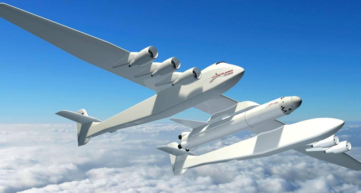 Как летает самый большой самолет в мире? Видео первого полета