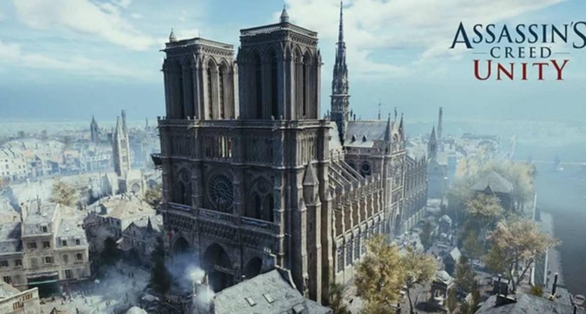 Assassin's Creed Unity раздают бесплатно: единственный Нотр Дам, который можно сейчас посетить