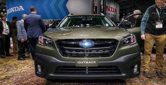 Subaru Outback 2020: Новый универсал повышенной проходимости