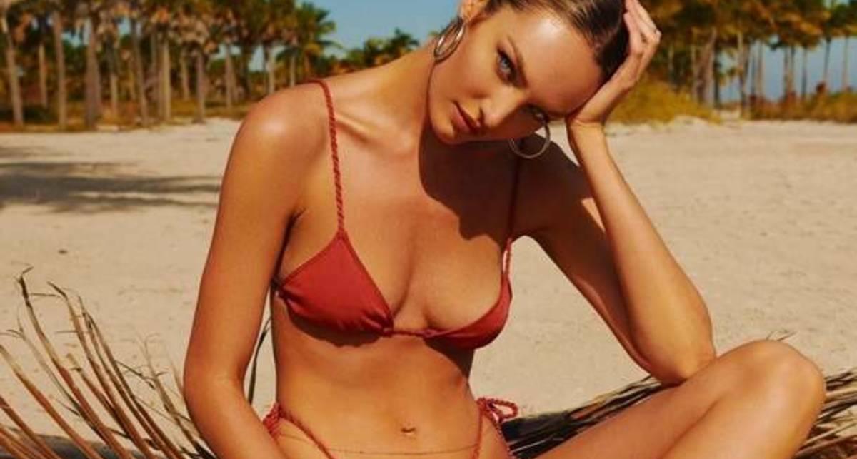Кэндис опять обрадовала: фото в микробикини на пляже согреют любого