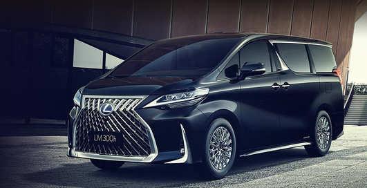 Дорого-богато: Lexus представил cамый роскошный и самый необычный минивэн