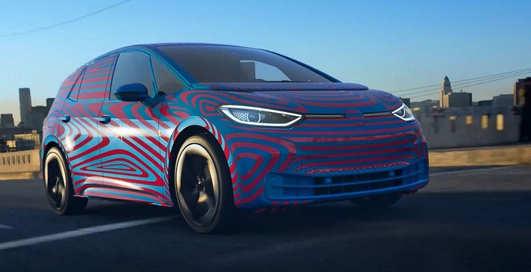 Volkswagen случайно рассекретила новый электрокар